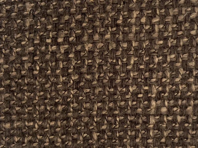 potahová látka na polstrování masivní židle tmavě hnědá