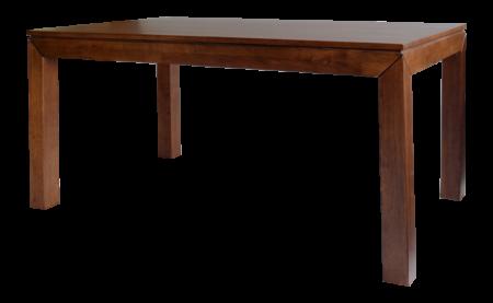 Jídelní masivní stůl MORIS v barevném provedení ořech